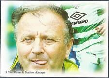 FUTERA-CELTIC 1999- #81-PLAYER & STADIUM MONTAGE-MANAGER-JOZEF VENGLOS