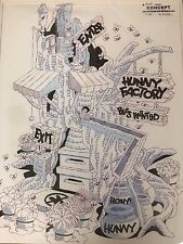 "Mike Royer Disney Original Concept Drawing Winnie The Pooh ""Hunny Factory"""