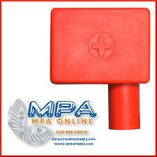 BATTERY TERMINAL COVER - POSITIVE RIGHT FLAG ENTRY - HIGH QUALITY DURABLE PVC