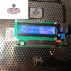 READY TO USE -FULL SET- Commodore 64 / 128 1541 SD Disk Drive SD2IEC LCD v.2017
