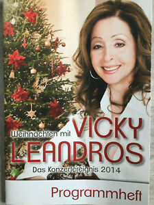 WEIHNACHTEN MIT VICKY LEANDROS - Programmheft 2014