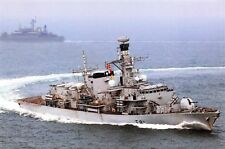 Postcard Devonport Based HMS Sutherland Type 23 Frigate RN Royal Navy L27