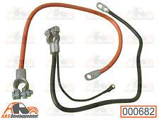 Cables de batterie + et - NEUFS de Citroen 2CV DYANE MEHARI  -682-