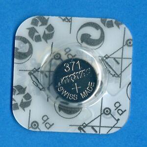 4 x 371 SR920SW V371 D371 SR69 1.55V Silver Oxide Watch Cell Batteries Rayovac