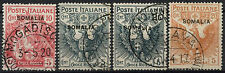 Italian Somaliland 1916 SG#19-22 Red Cross Used Set #A92181
