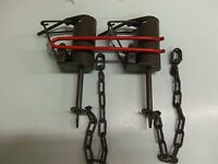 4-Dog Proof /& 4-220 Body Grippers Traps  Raccoon Duke Raccoon Trapping Pkg