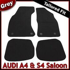 Audi A4/S4 Saloon (1995 ... 1998 1999 2000 2001) Tailored Carpet Car Mats GREY