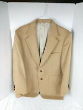 Christopher Hayes Sport Jacket Men's 42R 100% Camel Hair