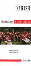 Danish-English / English-Danish Dictionary & Phrasebook by Erna Maj...