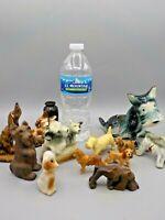 12 Vintage Ceramic Resin Dog Figurines Planters Souvenirs Scotty Hound Terrier