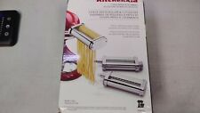 KitchenAid - Stand Mixer Attachment - 3-Piece Pasta Roller & Cutter Set