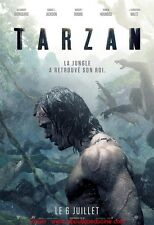 TARZAN Affiche Cinéma / Movie Poster Alexander Skarsgård 160x120