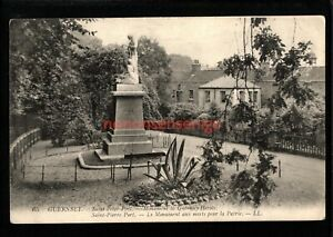 GUERNSEY SAINT PETER PORT MONUMENT TO HEROS SOLDIERS LL. POSTCARD 1909 - UK331