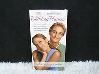 2000 The Wedding Planner Jennifer Lopez/Matthew McConaughey Columbia Pics VHS