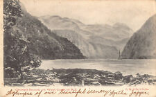 R184937 Caswell Sound on West Coast on N. Z. S. M. Series. 1904