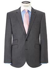 John Lewis Herringbone Tailored Silk Wool Blazer / Jacket Grey Size 36R £140