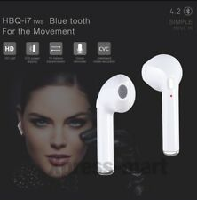 Bluetooth Headset Earbud Wireless Earphone Headphone for iPhone 7 Samsung