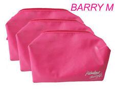 JOB LOT 20 X PINK BARRY M LOOK FABULOUS COSMETICS BAG MAKE UP BAGS TRAVEL PURSE