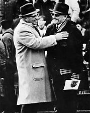 1967 Chicago Bears GEORGE HALAS & Packers VINCE LOMBARDI Glossy 8x10 Photo Print