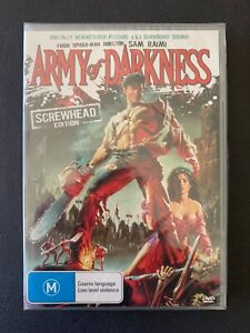 ARMY OF DARKNESS (SCREWHEAD EDITION) DVD ***BRAND NEW***