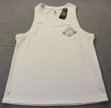 Under Armour Mens White Lpf Jii Athletic 1988 Basketball Camp Tank Top Nwt M $70