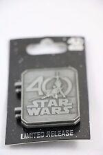 WALT DISNEY WORLD STAR WARS CELEBRATION 2017 40TH ANNIVERSARY LOGO PIN DAMAGED