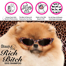Rich Bitch Shampoo for Your Demanding Diva Dog 8 oz Bottle Your Choice 38 Breeds