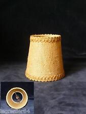 Abat jour tissu, applique, lustre, lampe électrique 105 mm à clip N°013