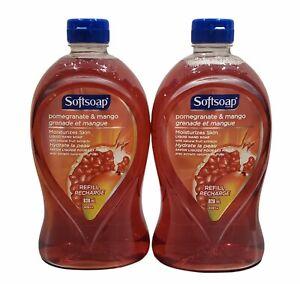 2X Softsoap Pomegranate & Mango Hand Soap Refill, 28oz HTF
