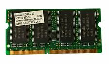 RAM Hynix 128MB PC133 133MHZ SO-DIMM CL3 Sync 144pin Notebook Laptop