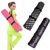 Yoga Pilates Mat Pads Storage Backpack Sport Fitness Shoulder Bag Waterproof Bea