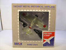 DARON WWII JAPANESE A6M2 ZERO FIGHTER 1:97 SCALE DIECAST DISPLAY MODEL