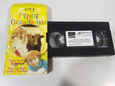 PIPPI LANGSTRUMP CALZASLARGAS 2 CAPITULOS SERIE TV VHS CINTA TAPE CASTELLANO &