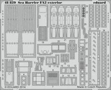EDUARD 1/48 AIRCRAFT- SEA HARRIER FA2 EXTERIOR FOR KIN 48829