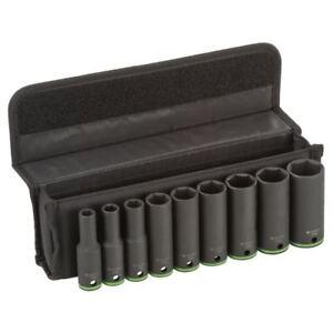 BOSCH Steckschlüsseleinsätze-Set, 9-teilig, 77 mm, 10 -