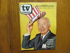 Ju-1964 NY Journal American TV Mag(WALTER BRENNAN/CLAIRE GRISWOLD/CLINT EASTWOOD