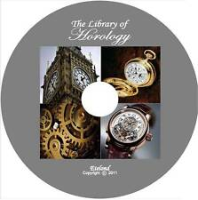 The Library of Horology:How to Make,Repair,Adjust,Clean Watches & Clocks / DVD