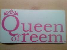 QUEEN of Reem l'unico modo è Essex Ragazze Girly Adesivo per automobili, specchi, i muri