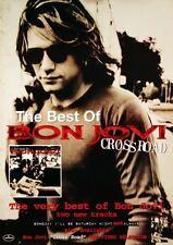 BON JOVI 1994 CROSS ROAD VIDEO PROMOTIONAL POSTER