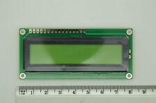 10pcs 1601 16x1 HD44780 Character STN YG LCD Display Module LCM (80 x 36mm)