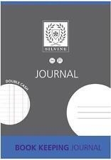 SILVINE A4 JOURNAL DOUBLE CASH BOOK KEEPING JOURNAL