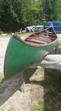 E. M. White 16' Canoe Original Finish Old Town Me Sport Model