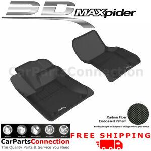 3D MAXpider L1JG00811509 For JAG XE RWD 17-19 KAGU BLACK R1 All Season Floor Mat