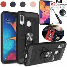 For Samsung Galaxy A10e/A20/A30S/A50S Kickstand Case+Full Cover Screen Protector