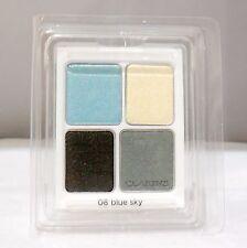 Clarins Eye Quartet Mineral 4 Color Eye Shadow #08 (Blue Sky) New Refill(T)