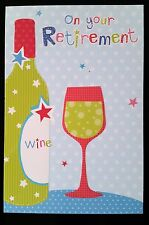 """F30)Lot de 6 Cartes """"On Your Retirement"""", Relax and enjoy  - Neuf"""
