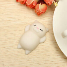 Soft Kawaii White Cat Squishy Healing Squeeze Fun Kids Toys Stress Reliever #A