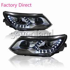 SL HID HEADLIGHTS FOR VW TIGUAN 2012-2016 FRONT BUMPER LED BI-XENON HEAD LAMPS