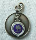 WW1 Duke of wellington regiment sterling silver medalion named