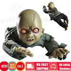 Animated Crawling Baby Zombie Scary Ghost Baby Doll Haunted Prop Halloween Decor